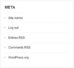 widget meta wordpress