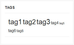 widget tag cloud wordpress